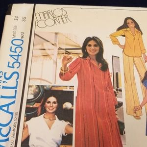 McCalls Other - Vintage McCalls Sewing Pattern Marlo Thomas